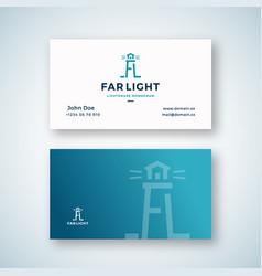 far light abstract sign or logo vector image