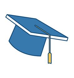graduation hat cap vector image