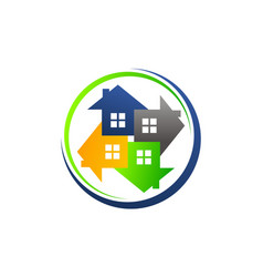 Home buy sell solutions vector