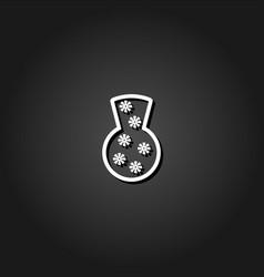 vase icon flat vector image