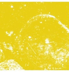 Yellow Distressed Texture vector image