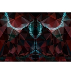 abstract dark red background vector image