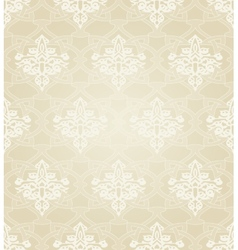 Seamless Pattern in Traditional Islamic Motif vector image