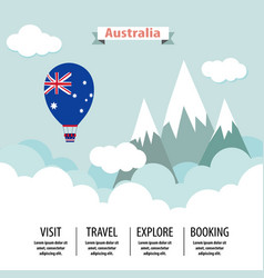 Australia country flat vector