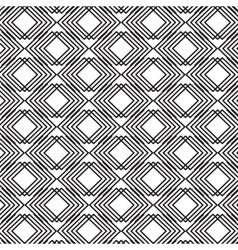 Monochrome abstract transparent fabric pattern vector image