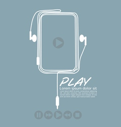 Music Player EPS10 vector