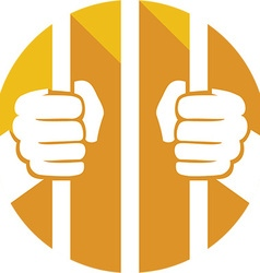 Prison Cell Icon vector