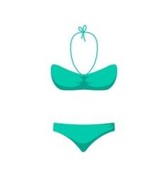 Women girl swim suit vector image