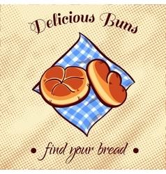 Bread On A Napkin 19 vector