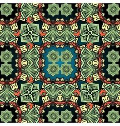Green carpet asian wallpaper design Tribal vector