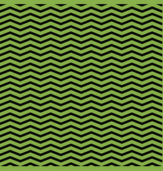 greenery and black chevron seamless pattern vector image