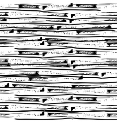 Hand drawn grunge simple lines Seamless pattern vector