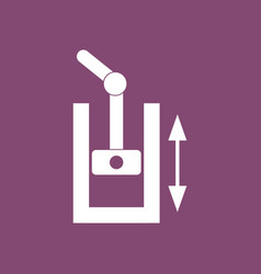 Icon pressure in engine vector