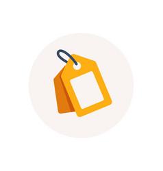label tag symbol discount sale element coupon vector image