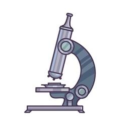 Microscope Science concept vector