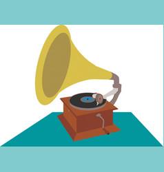 Retro gramophone eps 10 vector