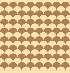 Snake skin like wave shapes tile seamless pattern vector