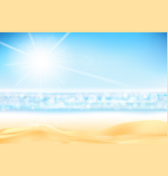 Summer abstract background bokeh with ligting vector