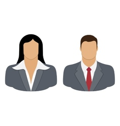 Business Person User Icon vector image vector image