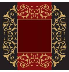 classy frame vector image