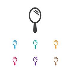 of barbershop symbol on hand vector image