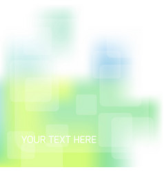 abstract blue green background with blurred vector image