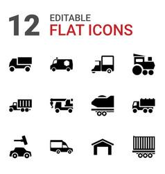 Auto icons vector