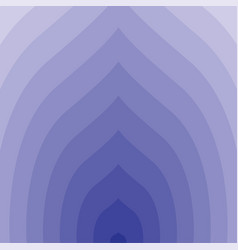 blue circular lines tunnel vector image