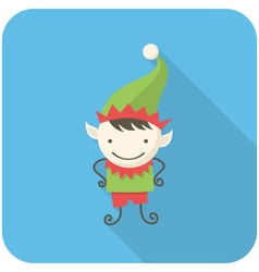 Elf icon vector