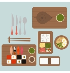 Japanese restaurant vector
