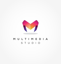 Modern Letter M logo vector
