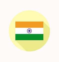 national flag india vector image