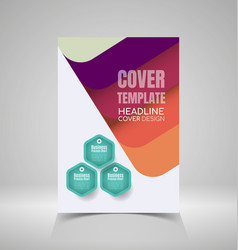 Report cover design2 vector