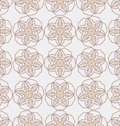 The pattern oriental style vector image