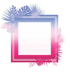 abstract template with colorful gradient and vector image vector image