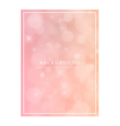 8 march greeting card template on pink background vector