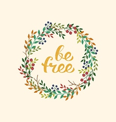 Be free vector image