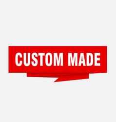 custom made vector image