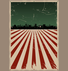 Fourth july poster vector