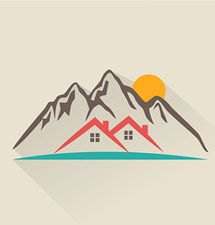 House rental icon vector image
