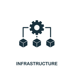 Infrastructure icon creative element design from vector