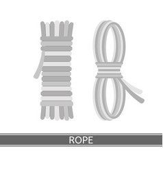 rope isolated vector image vector image