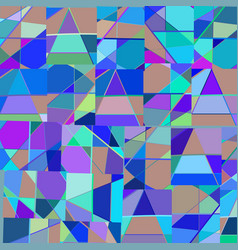 abstract colorful geometrical background design vector image