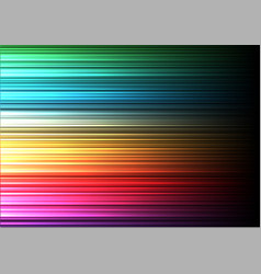 abstract colorful speed line background vector image
