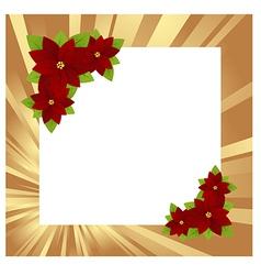 Christmas frame gold 01 vector