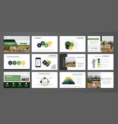corporate annual report vector image