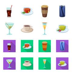 Drink and bar symbol vector
