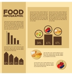 Food design Infographic icon Colorful vector