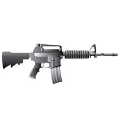 M16 gun vector