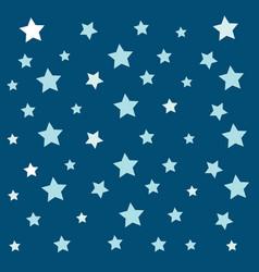 stars pattern design on white background vector image